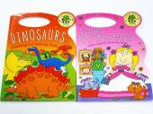 Princess/dinosaurs colour & activity books*