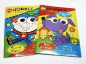 Wobbly eyes colouring book - 2asstd*