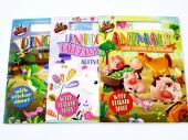 A4 carry colour and activity books - 3asstd*