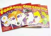 Foam mask craft kit - 4/asstd*