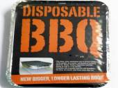 Disposable barbecue, (500g briqettes)*