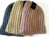 Ladies chunky slouch hat - 3asstd.