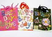 Mixed birthday gift bags (24x18x8cm)*