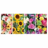 2020 2week to view slim floral diary - 4asstd (24x display)*