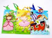 Mixed pirate/princess/fairy gift bags (24x18x8cm)*