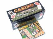 High quality, plastic coated, playing cards.*