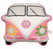 Pink VW Camper Bus shaped cushion.