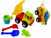4pc sand truck set (12x display)