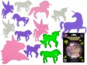 Pkt 14, glow-in-dark unicorns.