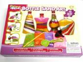 Bottle sand art, incs 4xbottles,4xsand, tool etc.