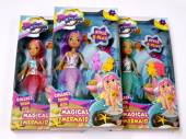 Magical mermaid doll play set - 3/cols*
