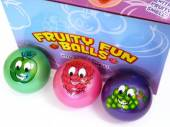 Box12, 9cm fruity smell fun balls - 6asstd.*