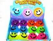 Box12, light-up, bouncy happyface ball.*