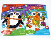 Wobbly eyes Christmas colouring book - 2asstd.