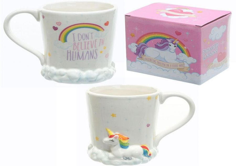 Unicorn china boxed mug, H10cm*