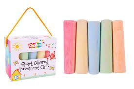 Chalk : Box 15, jumbo pavement chalk