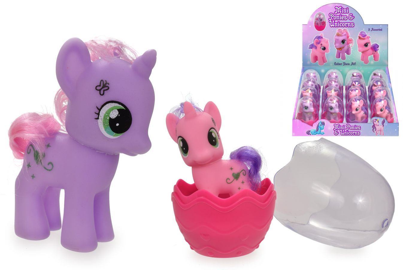 Mini unicorns/ponies (16x display)*