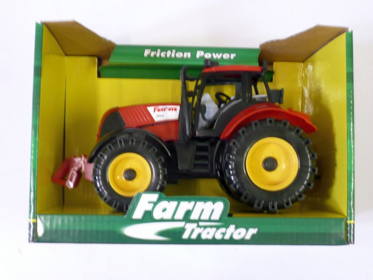 Friction power tractor.
