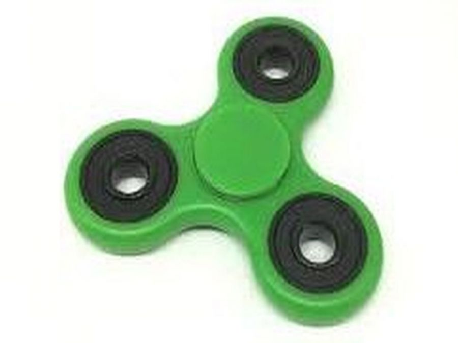 Fidget Spinner : Boxed fidget spinner (green only)